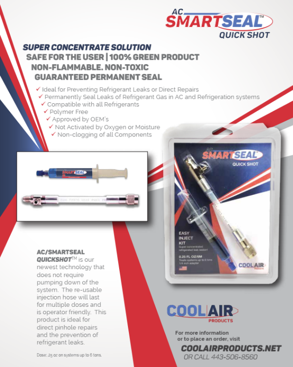 AC SmartSeal Quick Shot Flyer Thumbnail